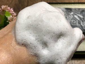 ナーブルスソープ 泡